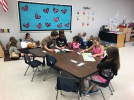 TES Participates in Read-A-Thon