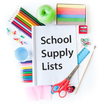 2018-19 Supply Lists