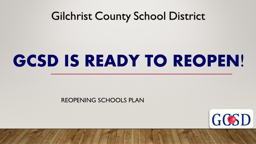GCSD is ready to reopen!
