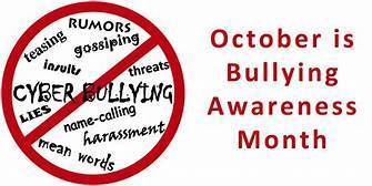 October is Bullying Awareness Month!