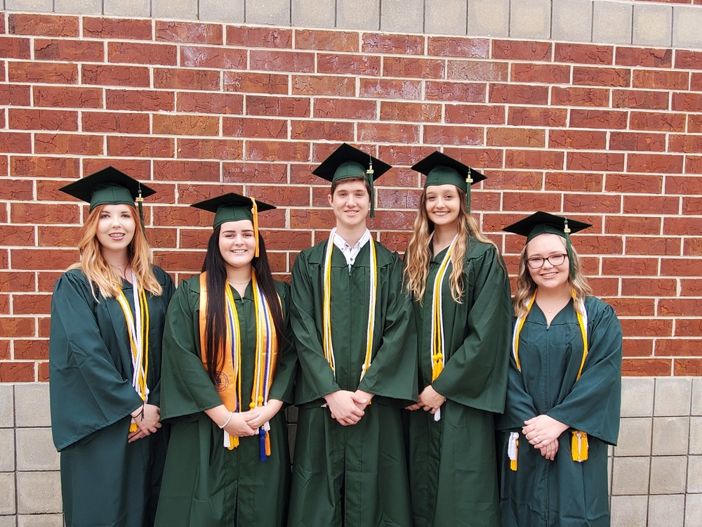 BHS Students Graduating with their Associate of  Arts Degrees!