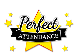 Perfect Attendance Announcement