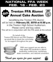 FFA Cake Auction