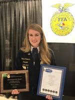 National FFA Champion Lauren Roberts