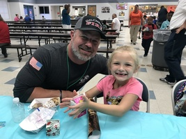 Dads Take Your Child to School Day at TES
