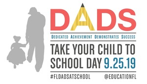 Dads: Take Your Child to School Day
