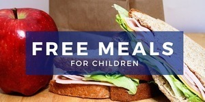 FREE Meals Provided for Children
