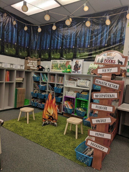 Second Grade Mrs. Gray's room.