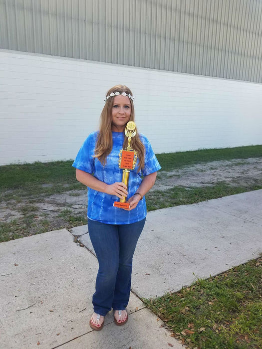 Trophy Teacher Mrs. Monica Brown