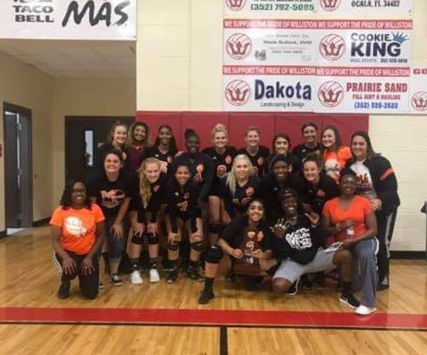 Lady Tiger Volleyball Team