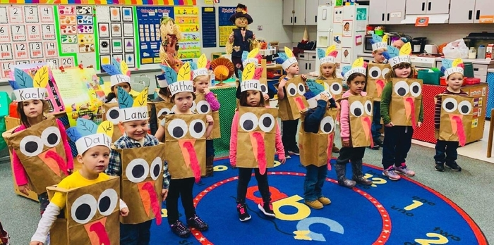 Pre-K Thanksgiving Performance